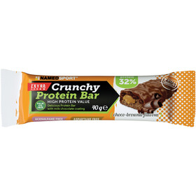NAMEDSPORT Crunchy Protein Bar Box 24 x 40g Choco Brownie